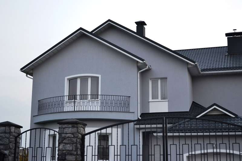 Декоративная штукатурка фасада - отделка стен дома
