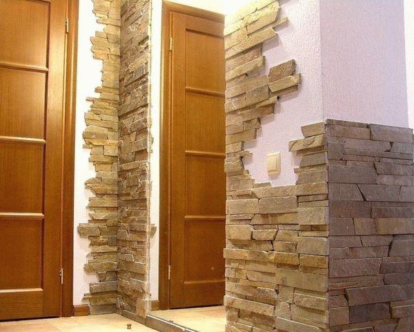 декоративный камень в интерьере (главный ключ)