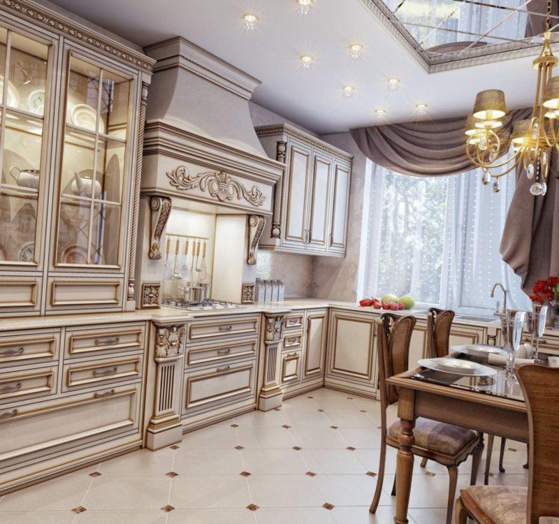кухонные гарнитуры в стиле модерн