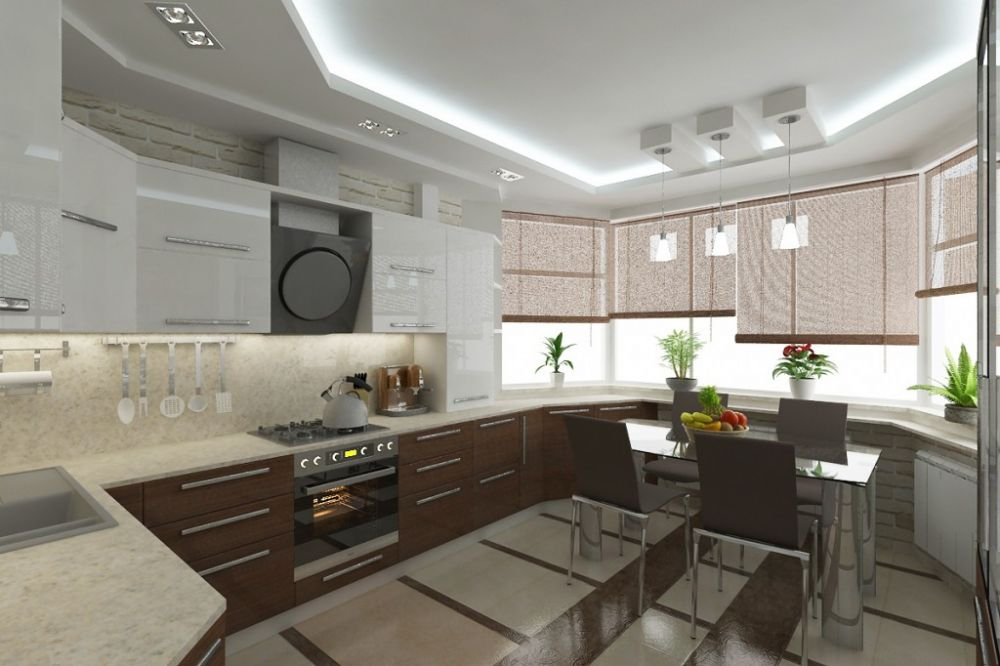 эркерные диваны для кухни п44т