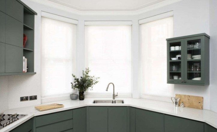 Дизайн кухни с эркером (44 фото), интерьер помещения площадью 9, 12 ...