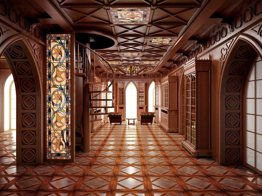 дома в готическом стиле