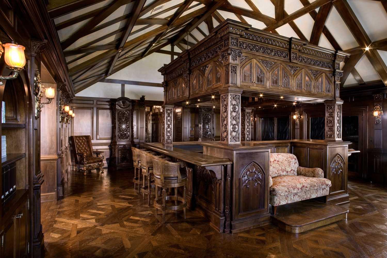 готический стиль в интерьере