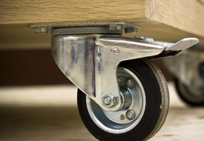 мебельные колеса поворотные
