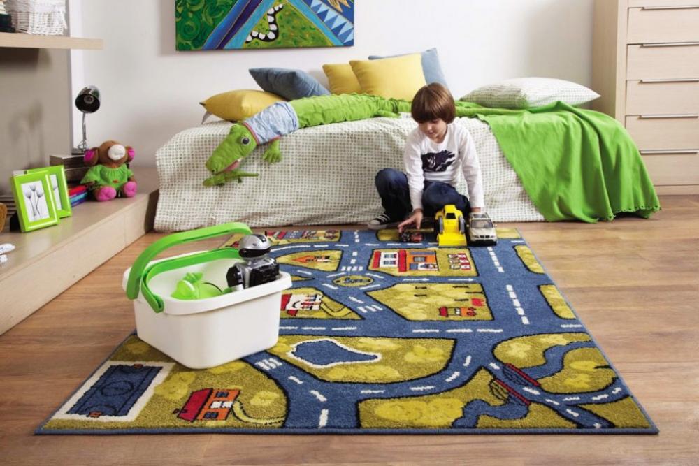 Ковер в детскую комнату: идеи 2018, фото, видео, примеры