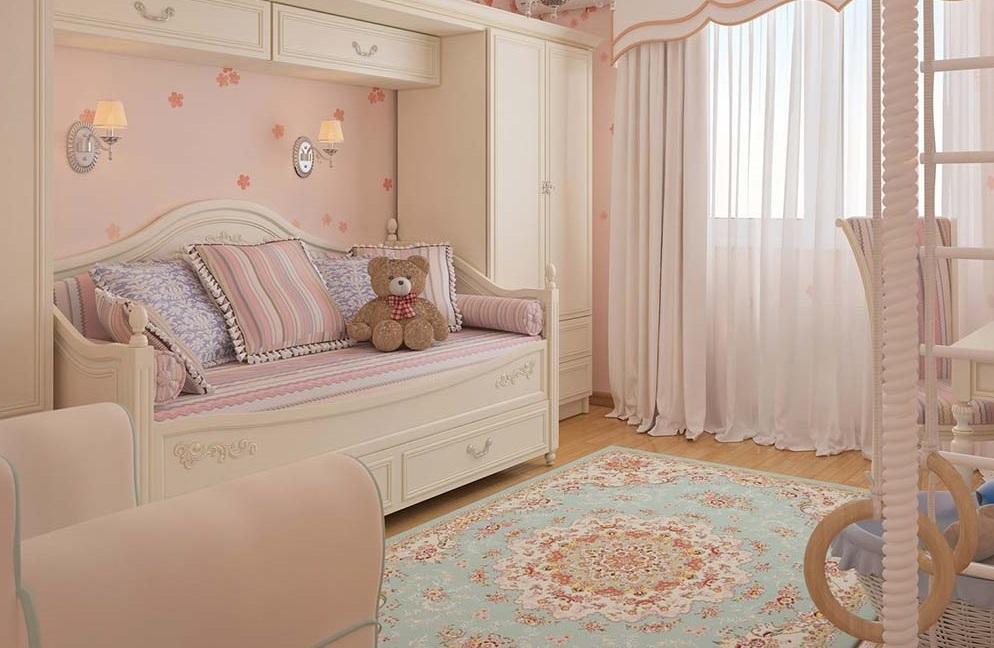 Детские ковры в комнату для девочек (34 фото): круглые модели и ...
