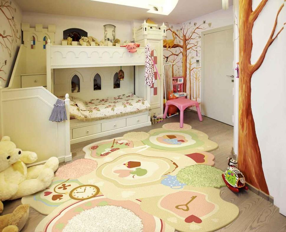Детские дизайнерские ковры на заказ