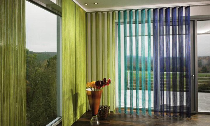 Веревочные шторы - 80 фото красивых новинок в шикарном дизайне!