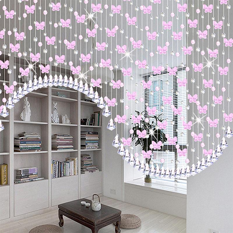 Нитяные шторы в интерьере - разновидности, правила подбора, способы ...