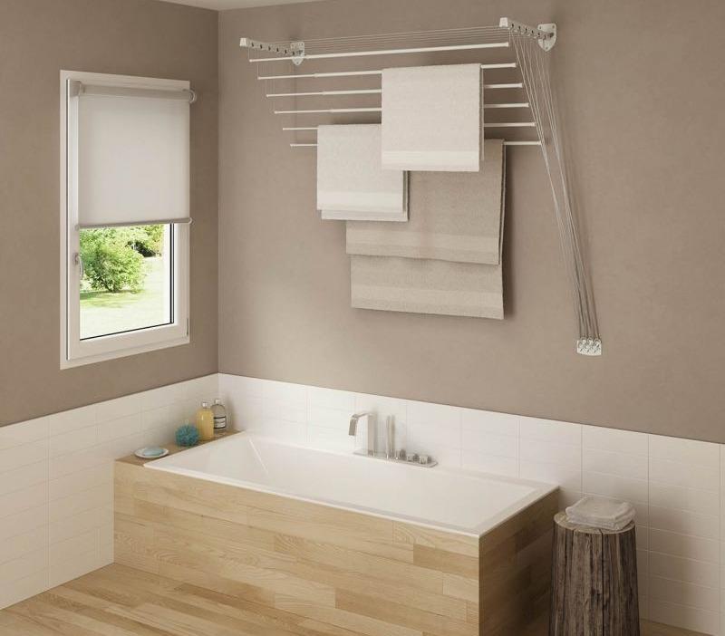 сушилка для ванной настенная водяная