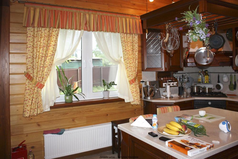шторы лучше для кухни