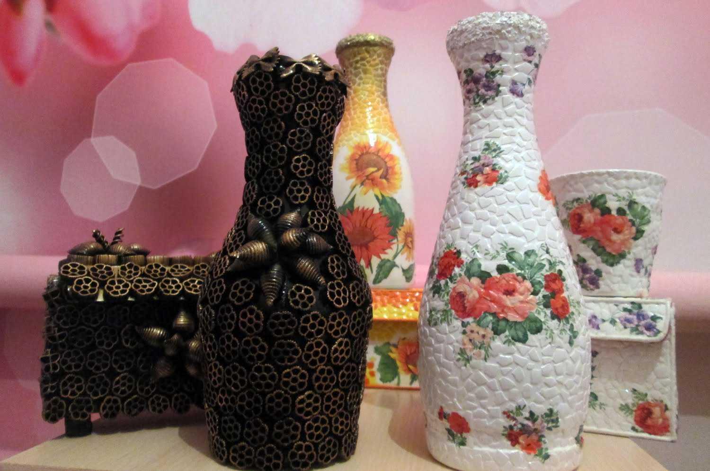 вазы для декора интерьера
