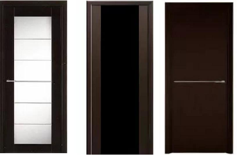 двери венге в интерьере