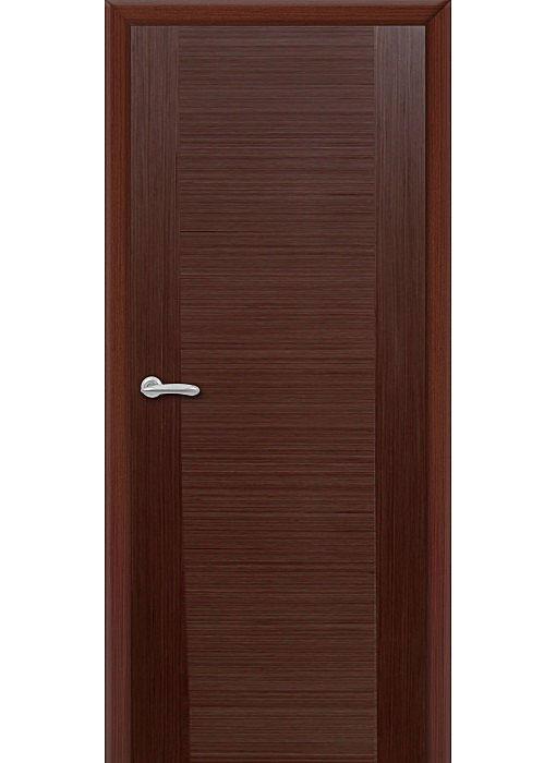 шпонированная дверь венге