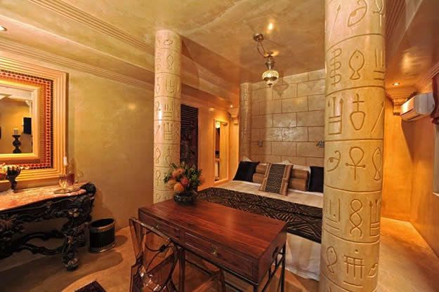 интерьер в египетском стиле