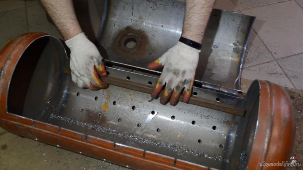 оптимальные размеры мангала для шашлыка из металла