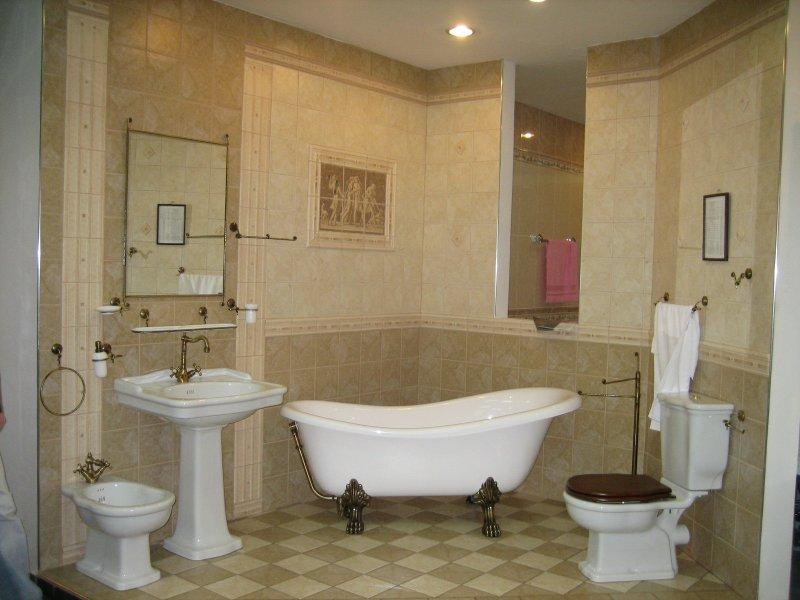 ванная колониальный стиль
