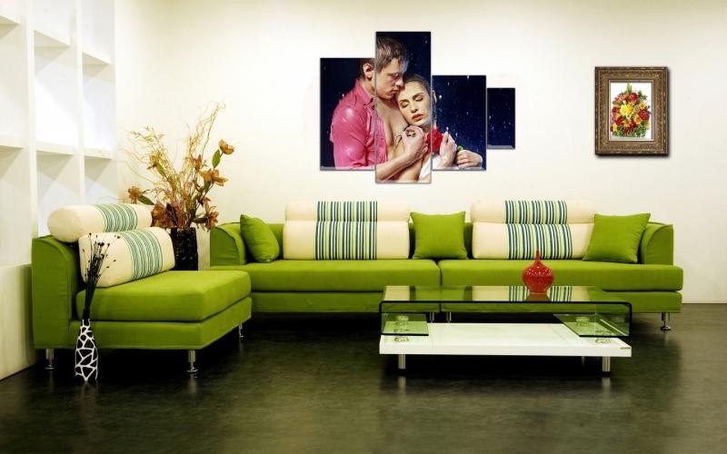 Картины в интерьере квартиры - Фото Дизайн интерьера