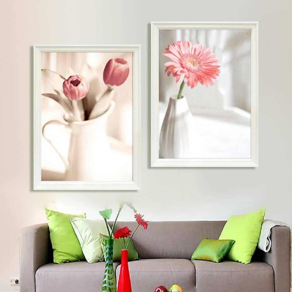 Картины (живопись) : 3D Картина Диптих Цветы (вышиваются только ...