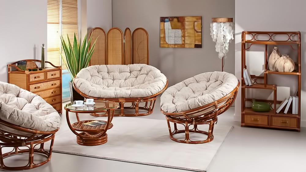 мебель и поделки из бамбука