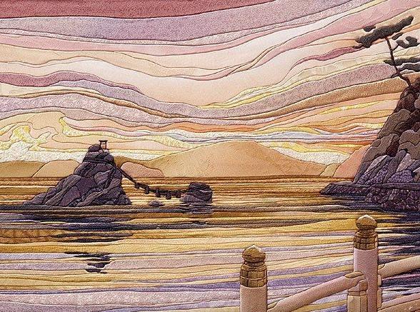 картины из лоскутков ткани своими руками схемы