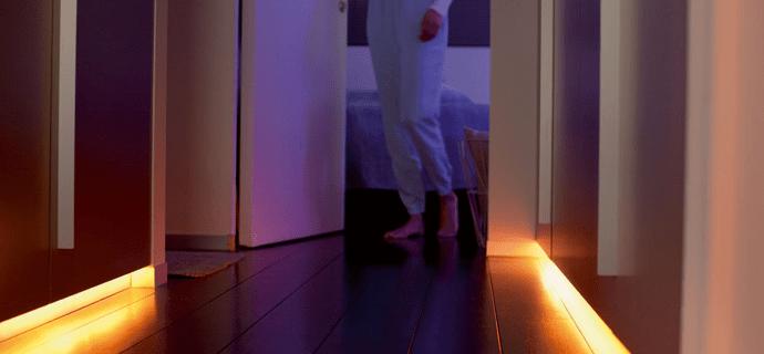 освещение в коридоре квартиры (главный ключ)