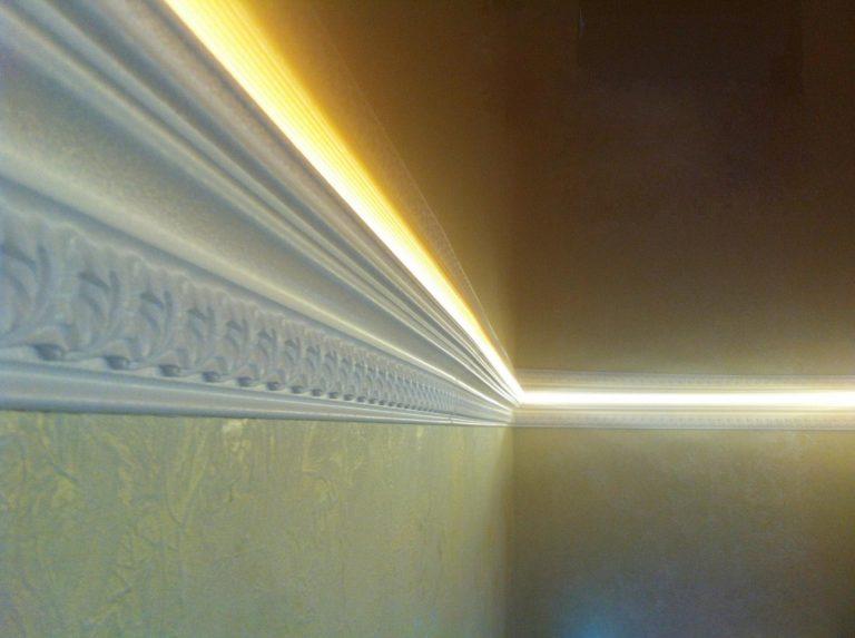ночная подсветка коридора