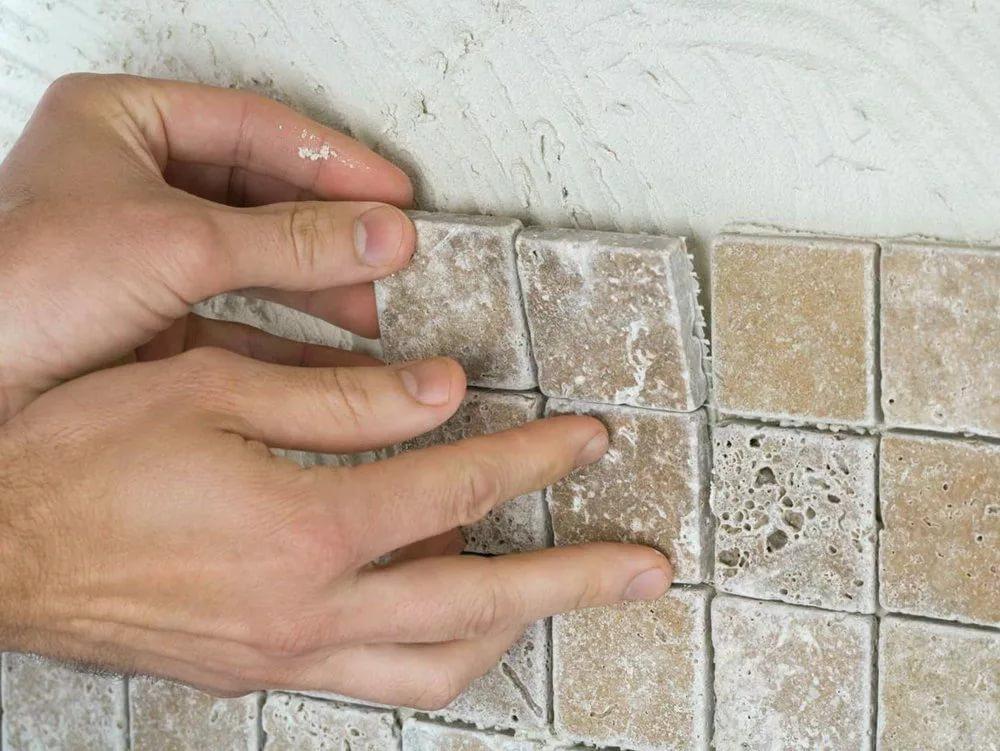 Белый клей для мозаики