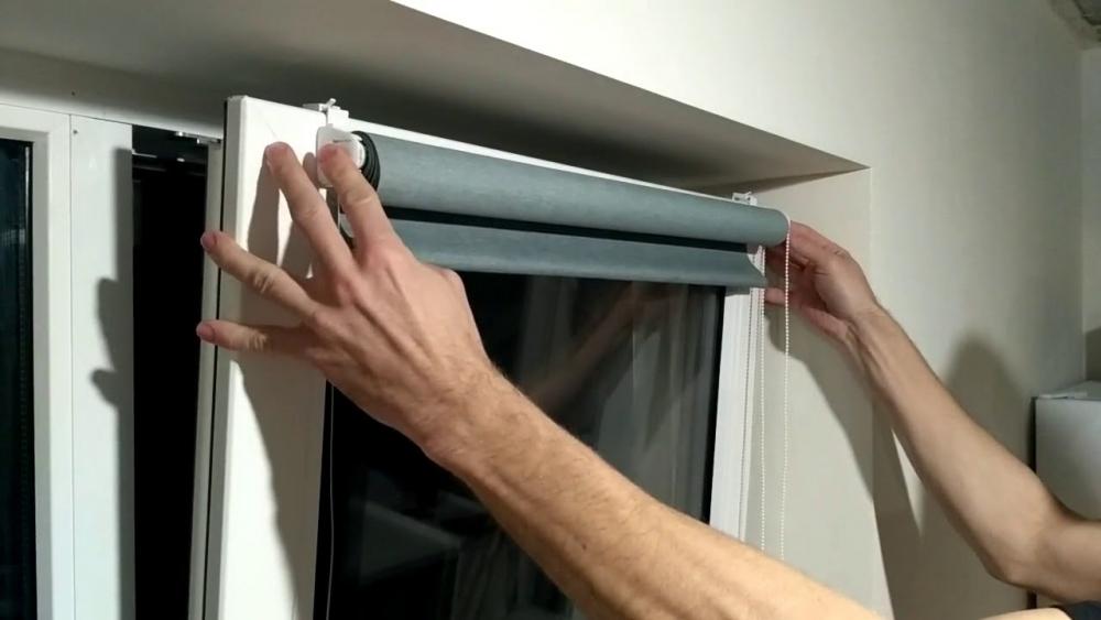 Ролл Шторы На Пластиковые Окна Без Сверления