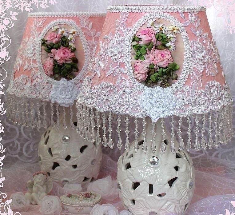 декоративные подушки в стиле шебби шик