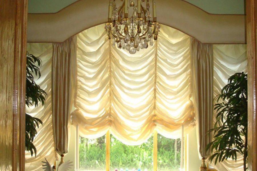 шторы однотонные плотные