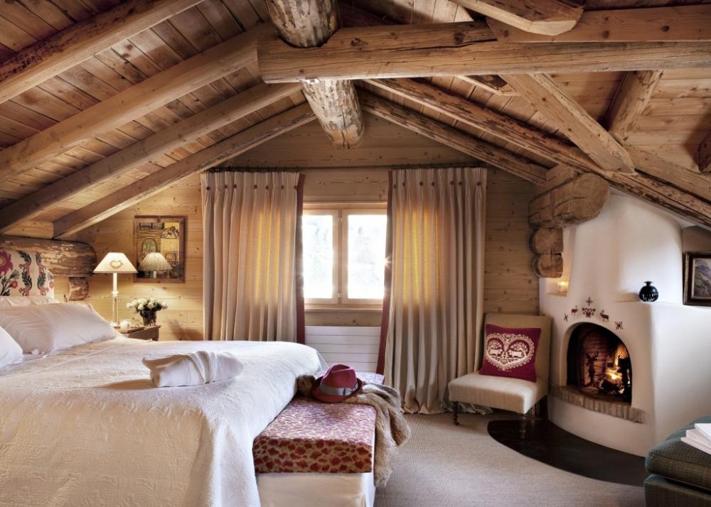 Спальня в деревенском стиле: идеи для оформления