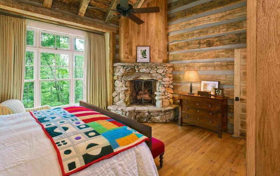 100 лучших идей спальни в стиле кантри: интерьер и дизайн на фото