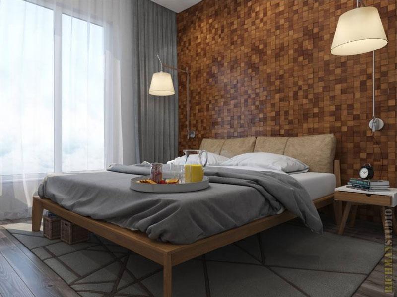 Спальня в скандинавском стиле — Комфортный дом