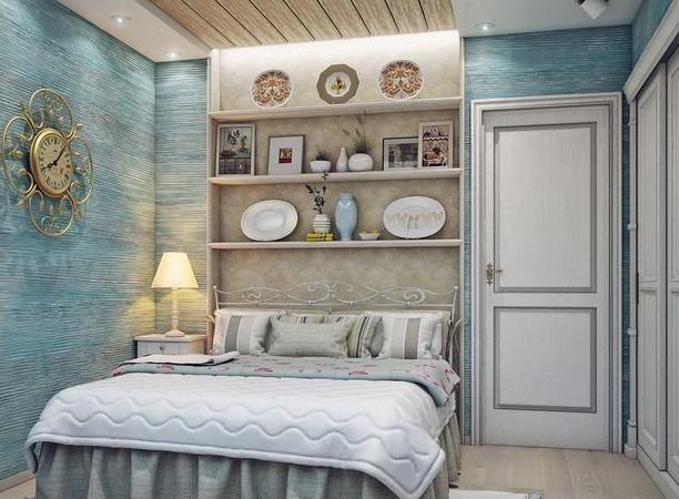Спальня прованс: дизайнерский интерьер своими руками — INMYROOM