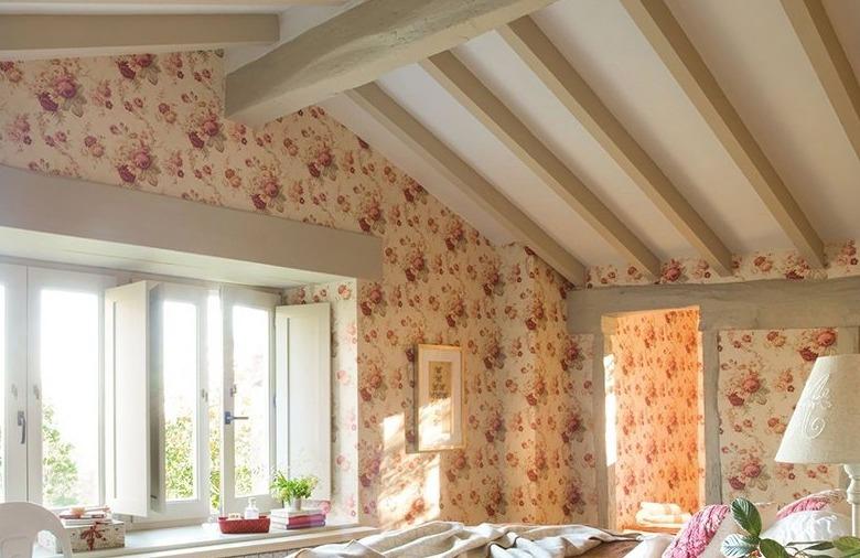 Дизайн спальни в стиле кантри: особенности, фото