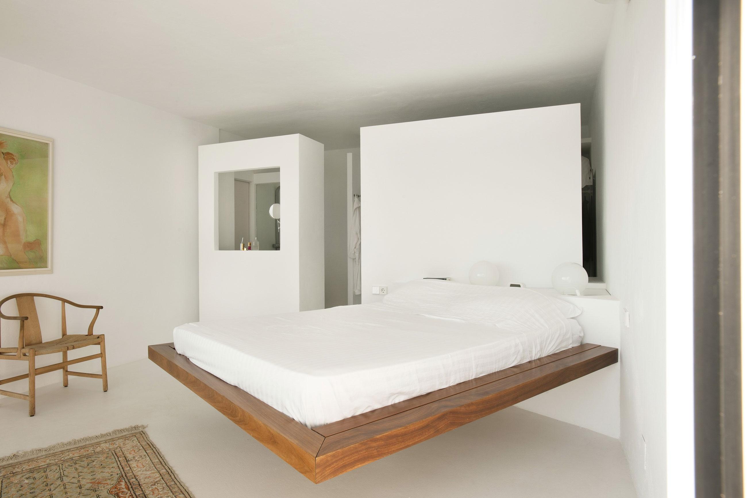 спальня в стиле минимализм (главный ключ)