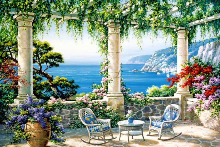 средиземноморский стиль в интерьере квартиры