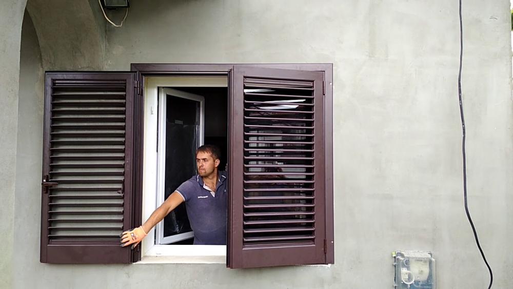 внутренние ставни на окна