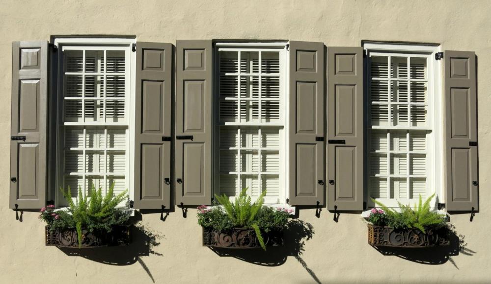 декоративные ставни на окна