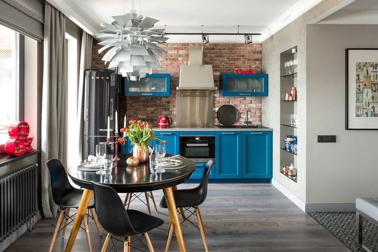 Кухня в стиле фьюжн: 30 ориганальных фото интерьеров + секреты дизайна