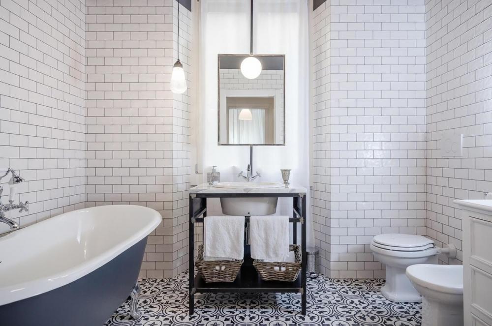 ванная в стиле лофт (главный ключ)