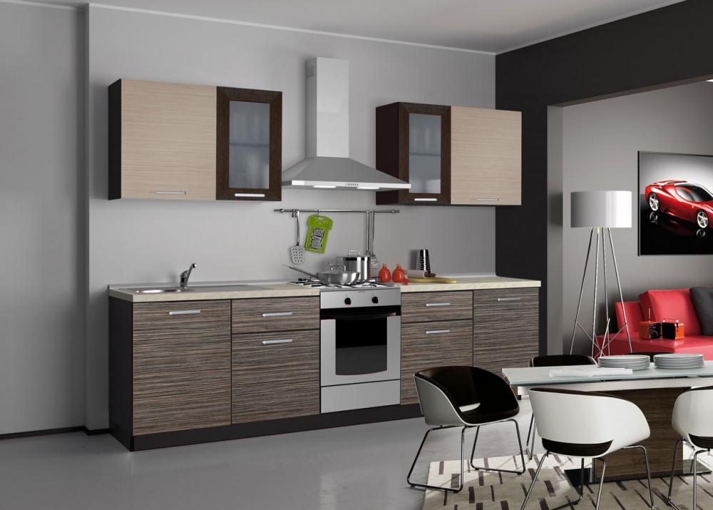 Серый цвет в интерьере кухни фото | OMARIC.RU