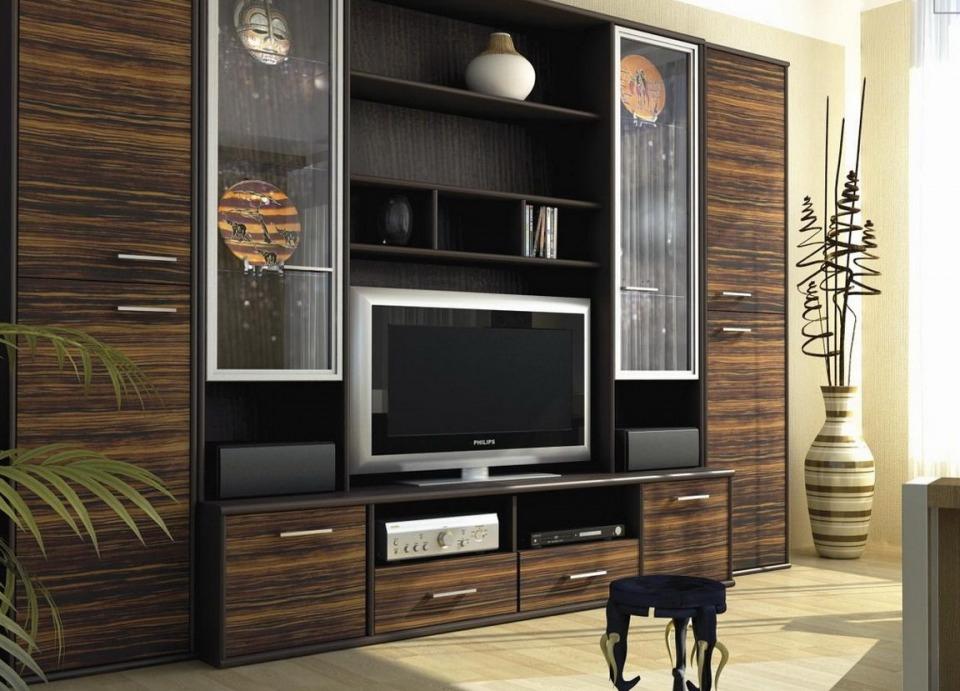 Мебель в гостиную Зебрано в Ростове-на-Дону - Мебель на заказа ...