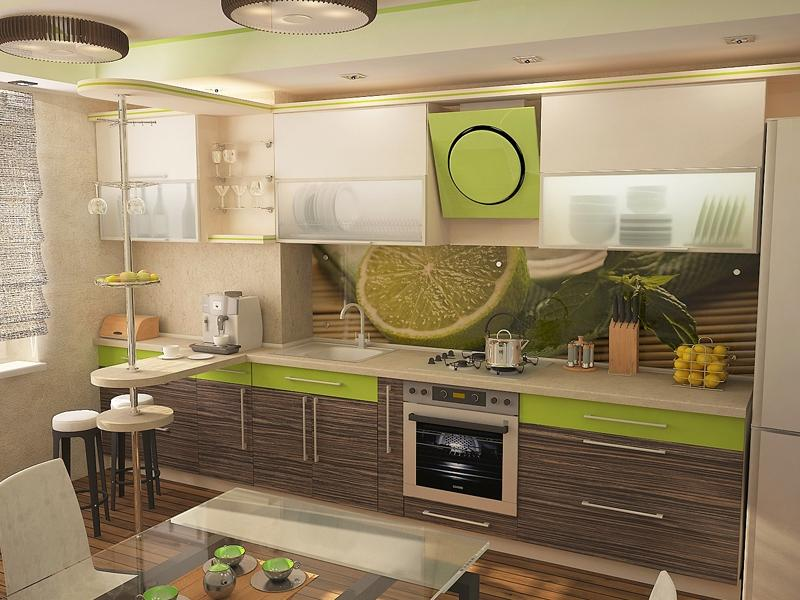 Кухня зебрано: особенности дизайна и сочетание цветов