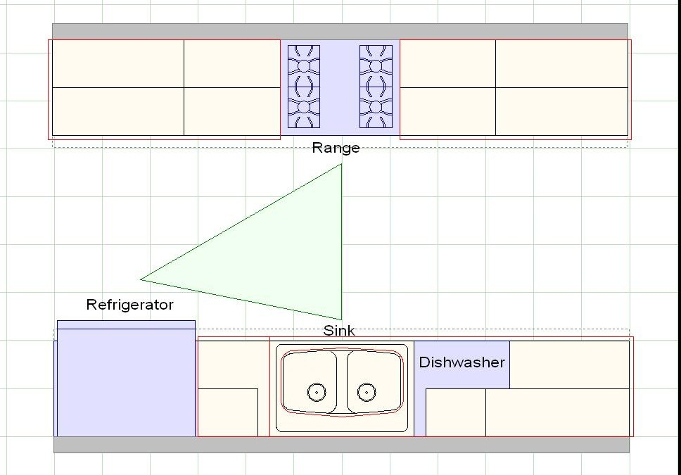 дизайн большой кухни (главный ключ)