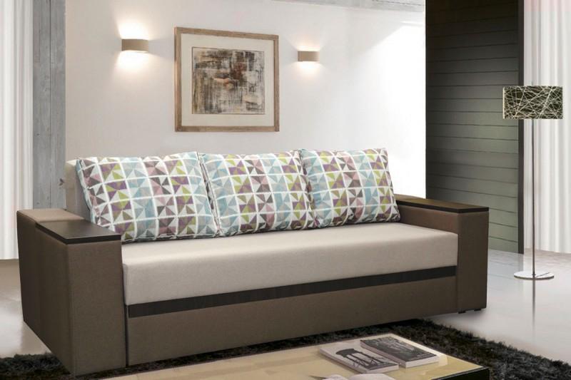 диван для ежедневного сна с ортопедическим матрасом