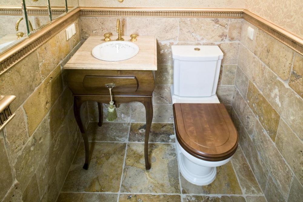 обустройство туалета в квартире