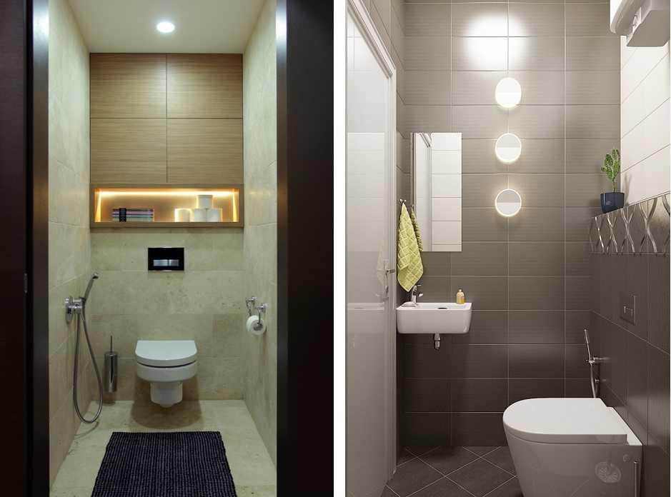 Освещение в туалете, какие лампы наиболее подходящие, где лучше ...