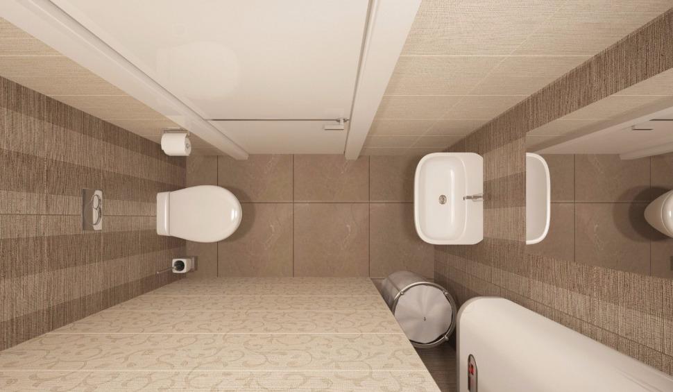 интерьер туалетной комнаты